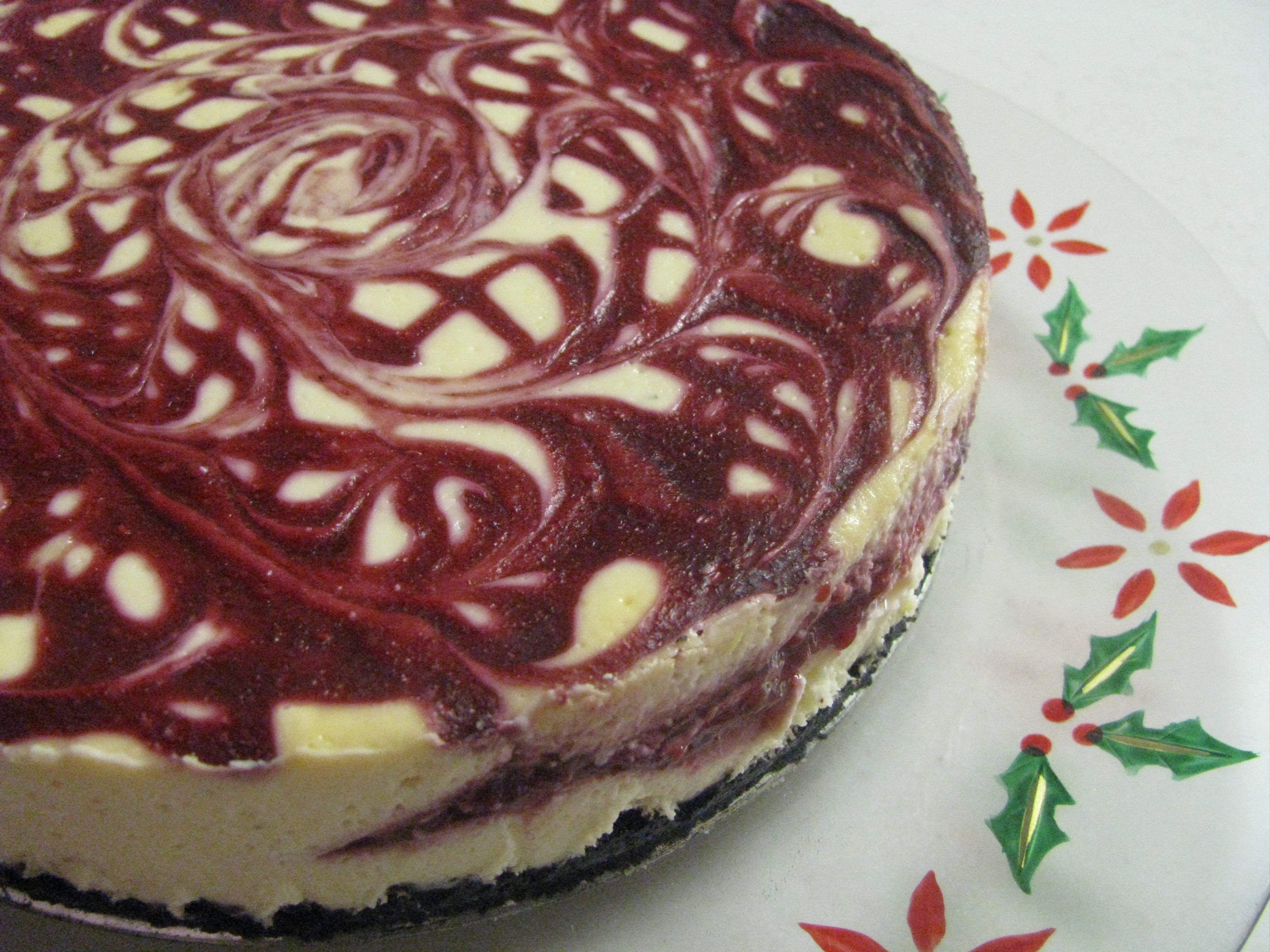 White Chocolate Raspberry Cheesecake | Stick a Fork in It