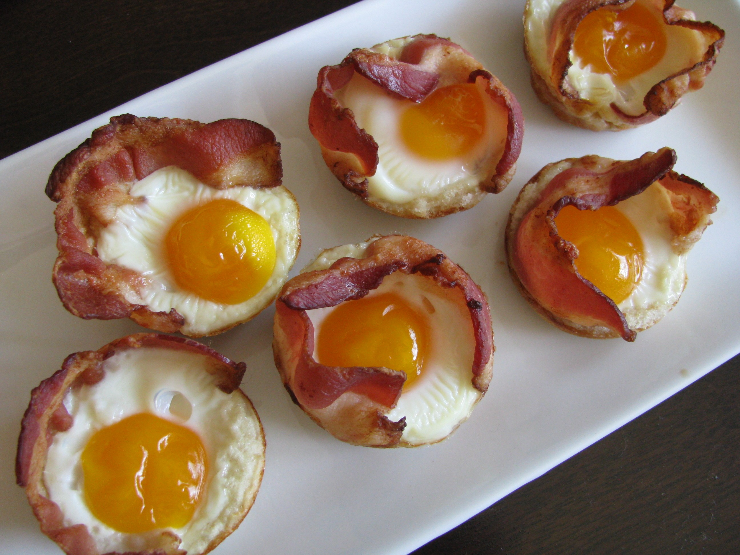 Bacon, Egg and Toast Cups | Stick a Fork in It