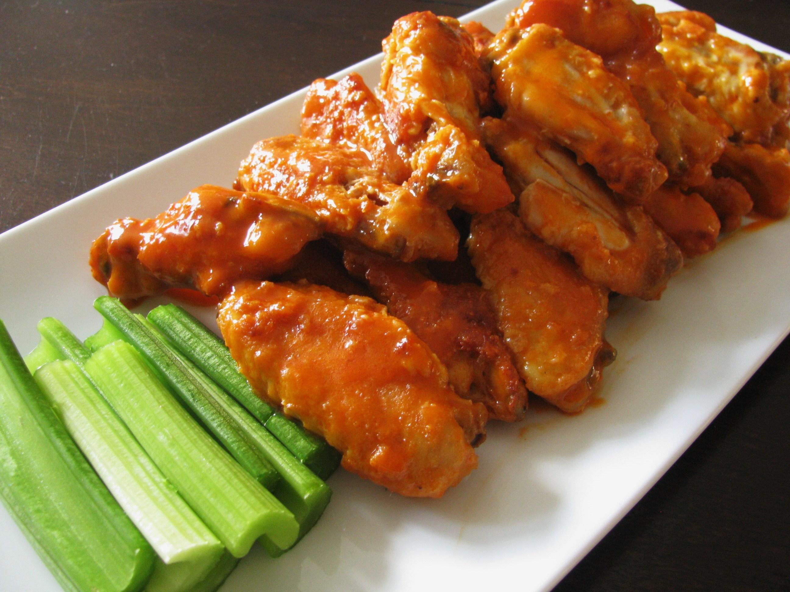 Baked Buffalo Wings | Stick a Fork in It