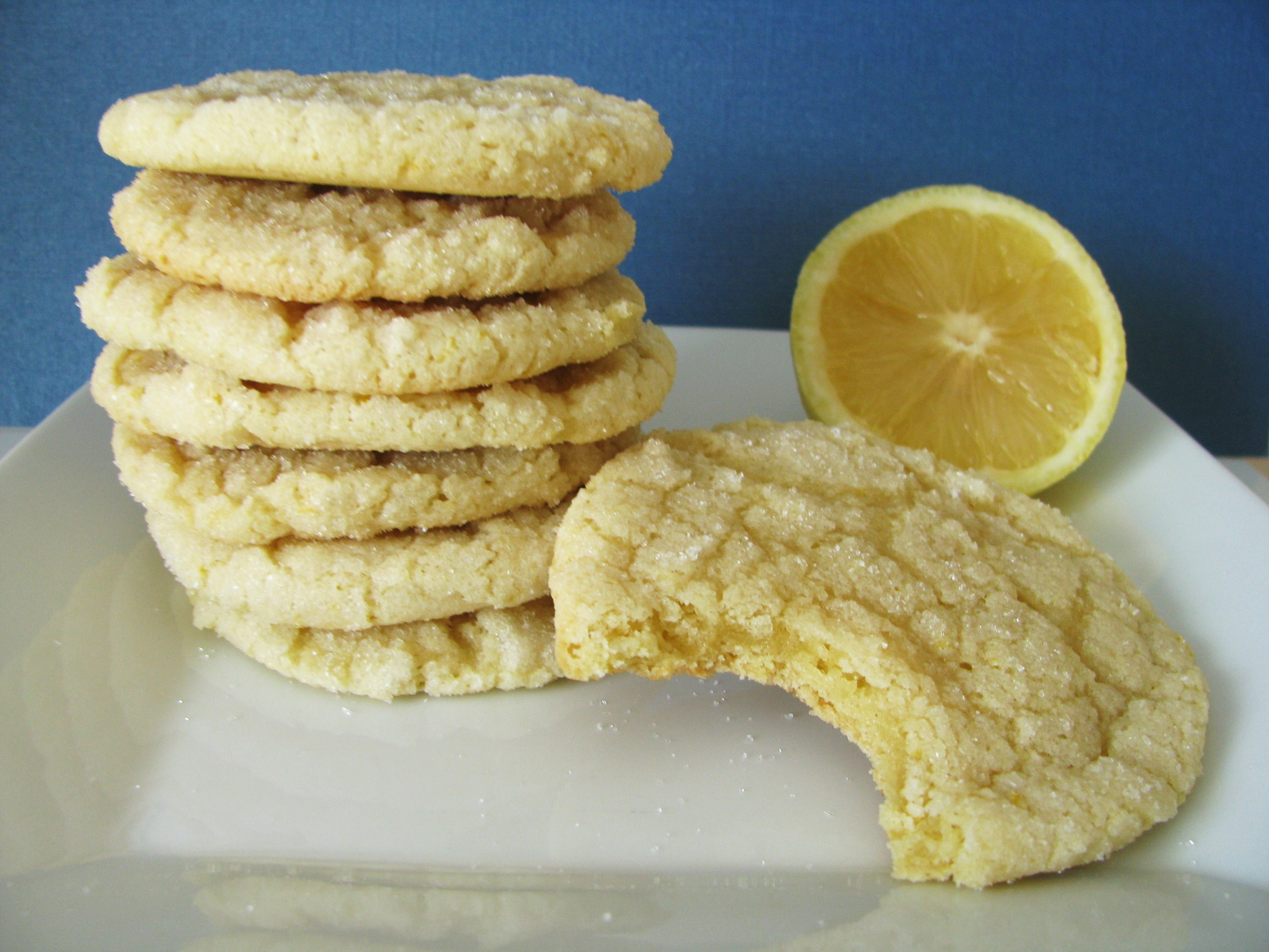 Lemon Sugar Cookies | Stick a Fork in It